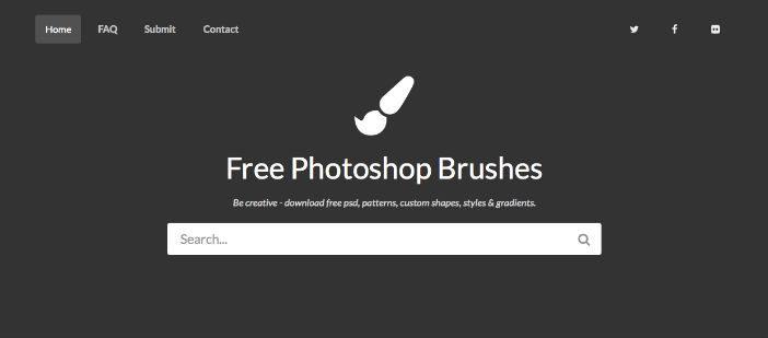 Listado de sitios wed donde encontrar pinceles Photoshop gratuitos: My Photoshop Brushes