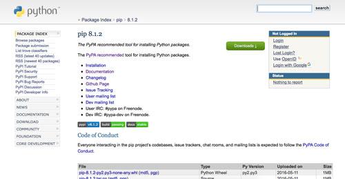 recopilacion-herramientas-para-programadores-gestor-paquetes-pip