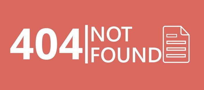 3 elementos con los que puedes optimizar tu página de error 404: Portada