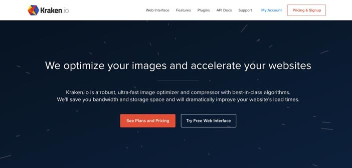 Herramientas para comprimir imágenes online: Kraken