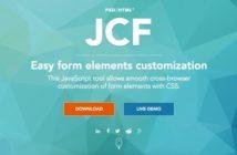 Librerías recomendadas JavaScript para tus formularios web: JavaSCript Custom Forms