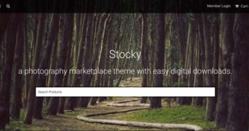 Temas Wordpress compatibles con plugin Easy Digital Downloads: Stocky