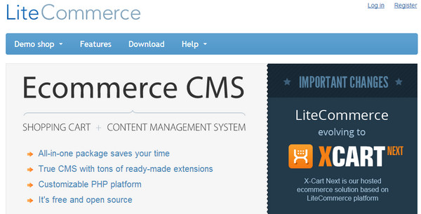 Framework  Lite Commerce