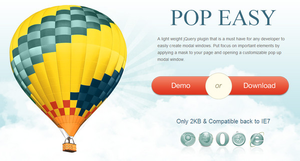 JavaScript Plugin Pop Easy
