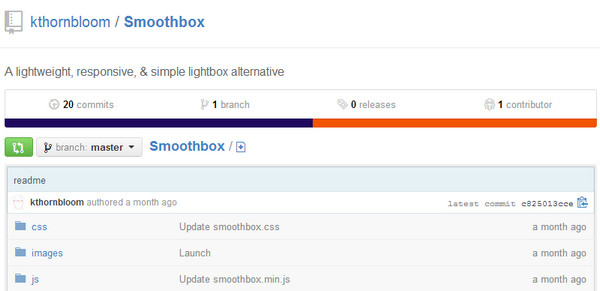 JavaScript Plugin Smooth Box