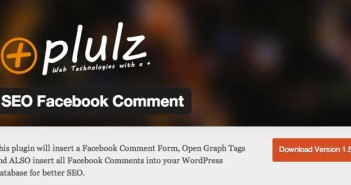 Plugin Wordpress SEO Facebook Comment