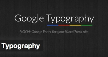 Plugin Wordpress Google Typography