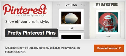 Plugin WordPress Pretty Pinterest Pins