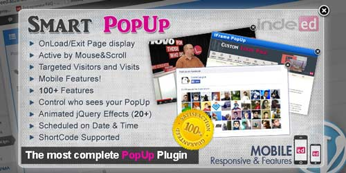 Plugin WordPress para crear ventanas emergentes Smart Popup