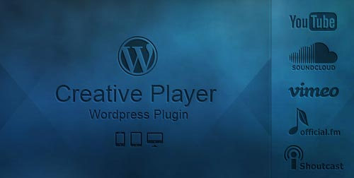 Plugin WordPress para incorporar reproductor multimedia: Creative Player