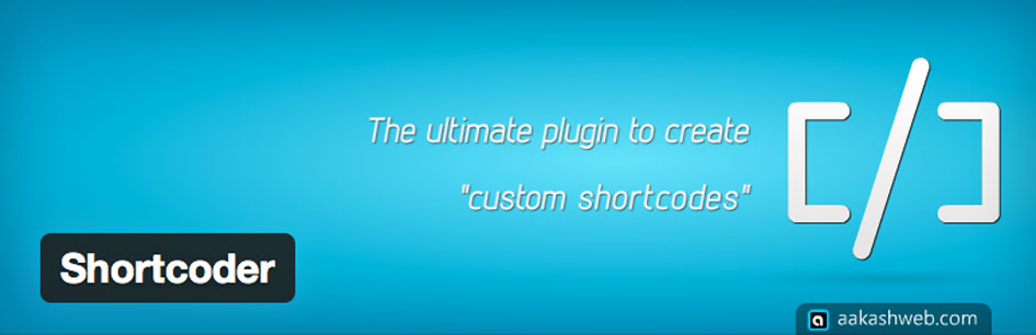 plugin-wordpress-shortcoder