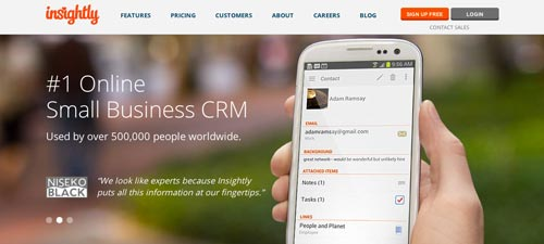 Software CRM Insightly