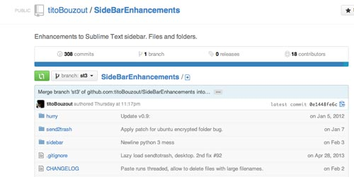 Extensión para Sublime Text Editor Sublime Enhancement