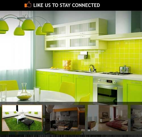 Interior Design Facebook Templates #37945