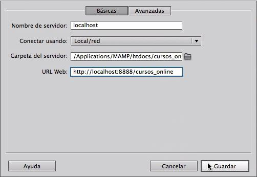 Dreamweaver CC - Configurar Servidor Local