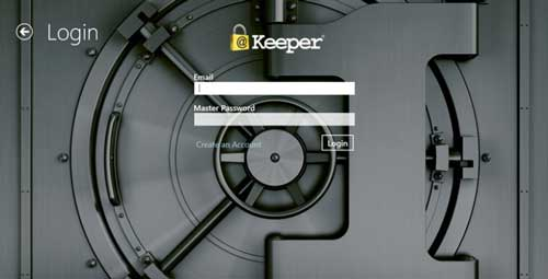 Aplicaciones para Windows 8.1 para proteger tus datos online: Keeper