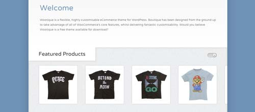 Woocommerce themes para tienda online: Wootique