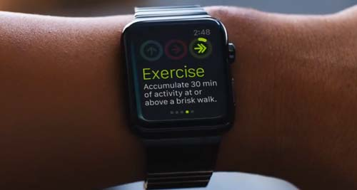 Apple Keynote 2014: Fitness App
