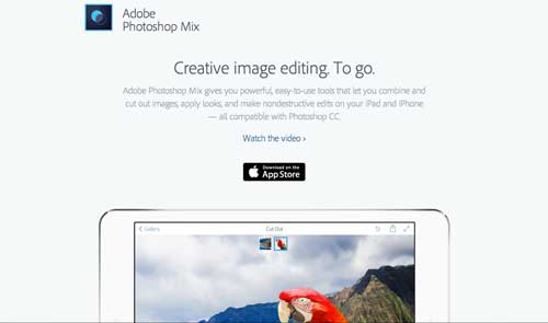 5 iOS app gratuitas de Adobe: Photoshop Mix