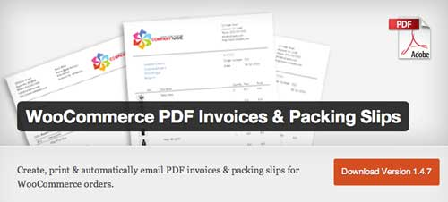 Plugin WordPress para generar facturas: WooCommerce PDF Invoices & Packing Slips