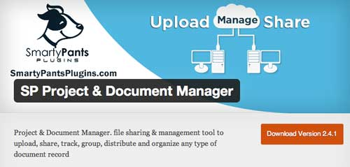 Plugin WordPress para gestión de proyectos: SP Project & Document Manager