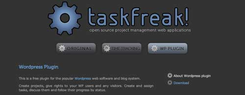 Plugin WordPress para gestión de proyectos: Taskfreak!