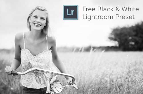 Preset Lightroom gratuitos para tus fotografías: Black and White