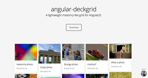 Herramientas útiles para la framework JavaScript AngularJS: Angular-Deckgrid