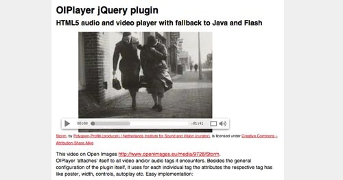 Plugin Jquery para reproducir audio en tu sitio: OlPlayer
