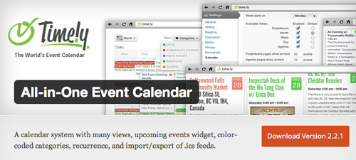 Plugin WordPress para añadir calendarios con eventos a tu sitio: All i One Event Calendar