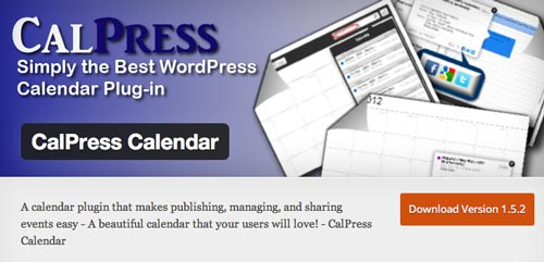 Plugin WordPress para añadir calendarios con eventos a tu sitio: CalPress Calendar