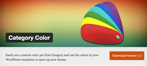 Plugin WordPress para organizar categorías y etiquetas: Category Color