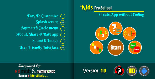 Kids Pre-School Educational app