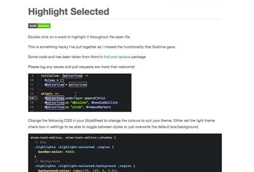 Atom Packages que todo desarrollador necesita: Highlight Selected