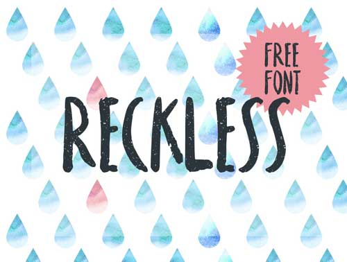 fuentes-gratuitas-efecto-pincel-Reckless