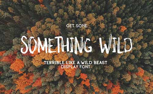 fuentes-gratuitas-efecto-pincel-SomethingWild