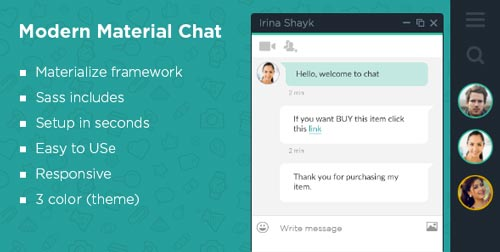 jquery-chat-plugin-opciones-crear-sala-de-chat-sitio-web-MaterialModernChat