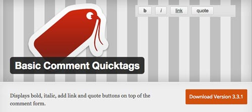plugins-gratuitos-optimizar-seccion-comentarios-en-wordpress-BasicCommentQuicktags