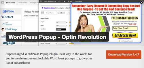 plugins-wordpress-gratuitos-crear-formularios-de-suscripcion-OptinRevolution