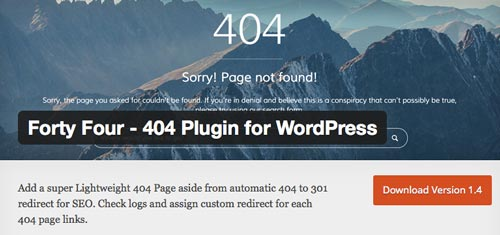 plugins-gratuitos-lidiar-error-404-en-wordpress-fortyfour
