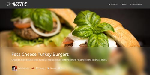 Temas Wordpress para blogs de cocina