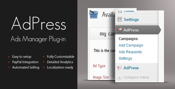 plugins-wordpress-integran-paypal-adpress